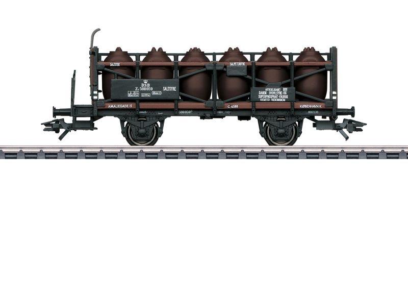 Säuretopfwagen mit Bremserbühne der Dssf, AC, Spur H0