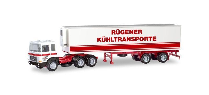 Roman Diesel 6x4 Kühlkoffer-Sattelzug 1:87 / H0