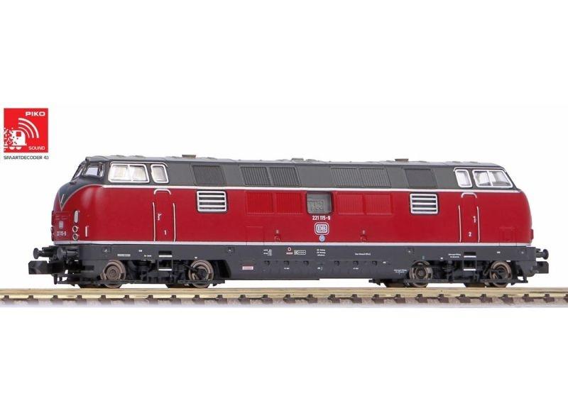 Sound-Diesellok BR 221 der DB, Epoche IV, Spur N