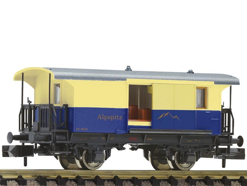 Zahnradbahn-Gepäckwagen, Alpspitz-Bahn, Spur N