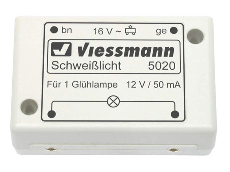 Elektronisches Schweißlicht, für alle Spurgrößen geeignet