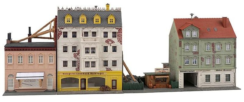 Stadthäuserzeile Breitestraße Bausatz, Spur H0