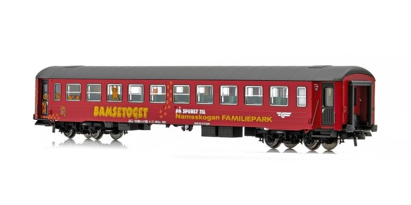 Topline Personenwagen BC3 21240 Bamsetoget der NSB, H0