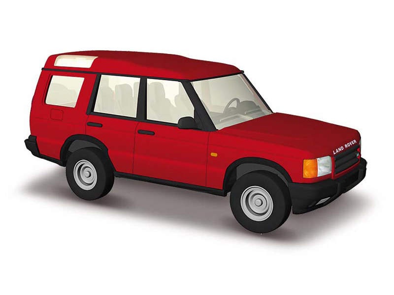 Land Rover Discovery, Rot, Spur H0