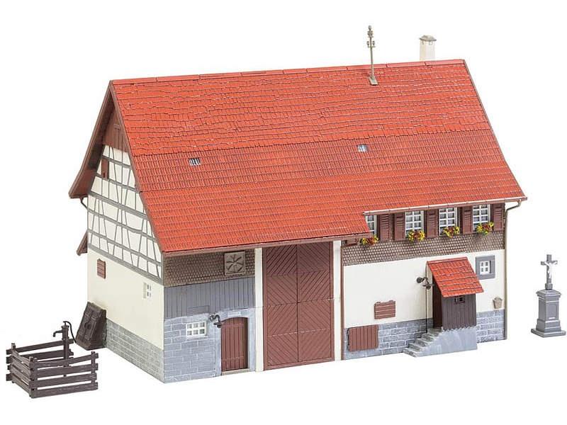 Altes Bauernhaus Bausatz H0