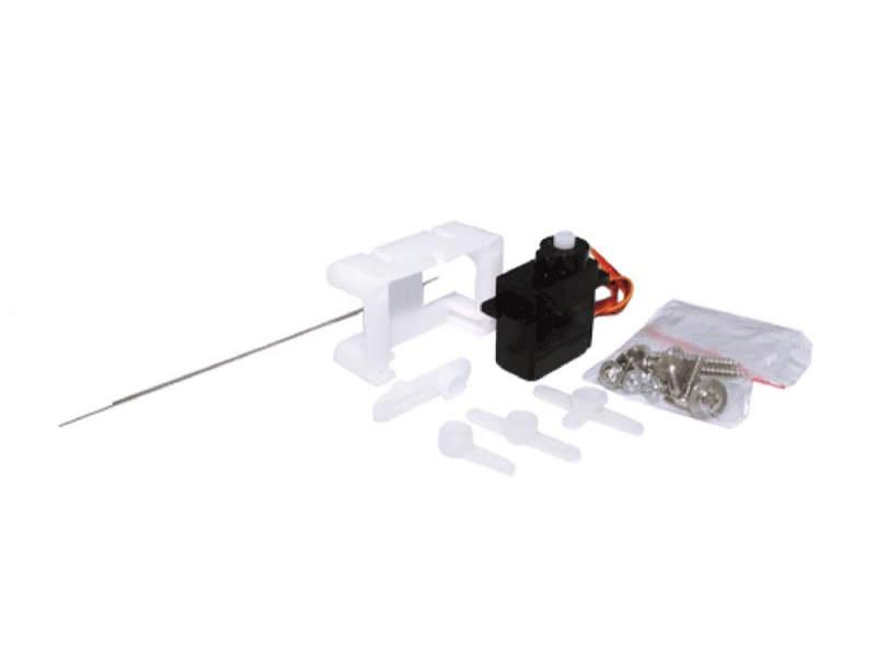 Servoantrieb mit Präzisions-Miniaturservo, Kunstoffgetriebe