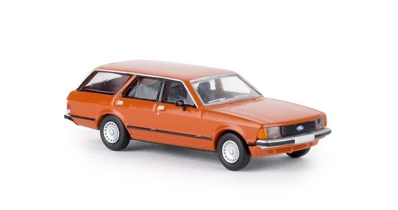 Ford Granada II Turnier, rotorange, TD, Spur H0