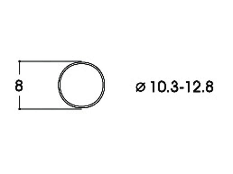 Haftringsatz DC 10,3-12,8 mm H0