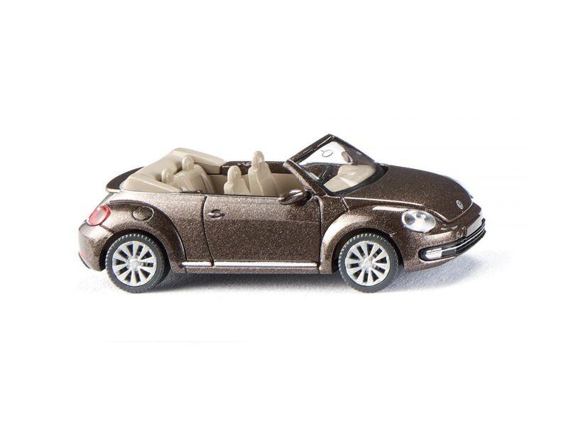 VW The Beetle Cabrio - toffeebraun metallic 1:87 / H0