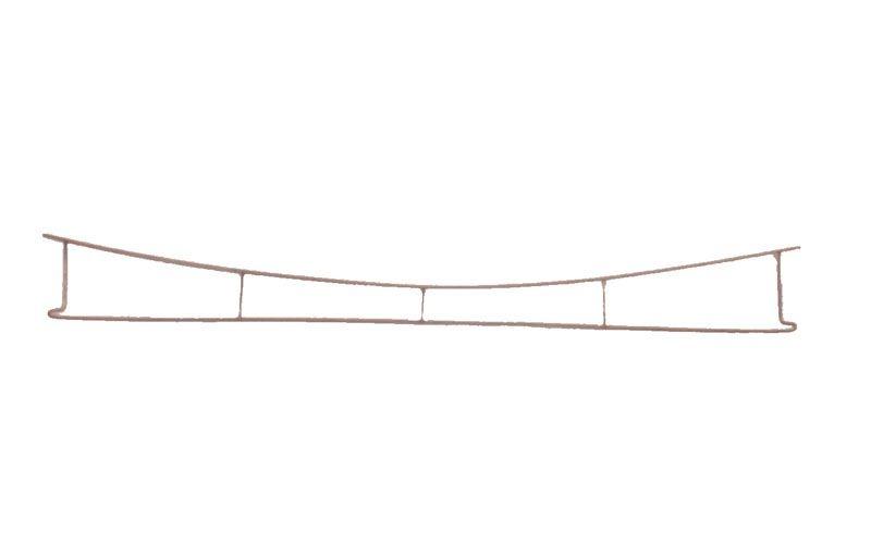 Fahrdraht verkupfert 0,7 x 250 mm, Spur H0
