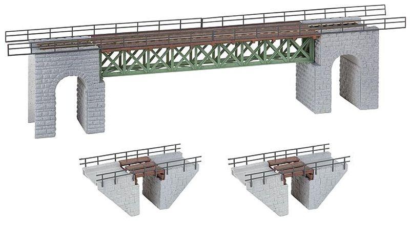 Schmalspurbrücken Bausatz H0
