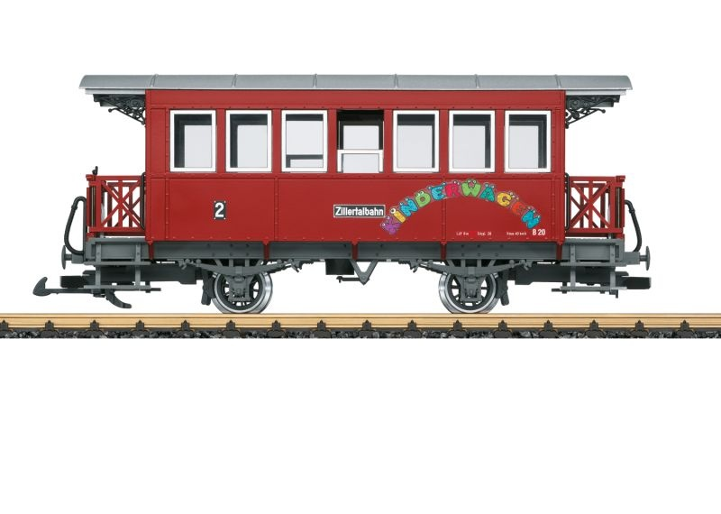 Zillertalbahn B 20, Spur G