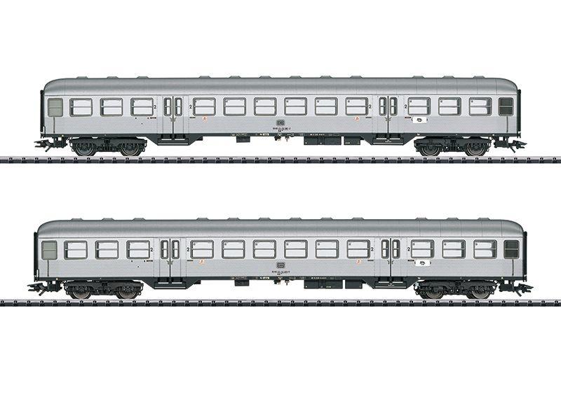 Personenwagen-Set Silberlinge der DB, Epoche IV, Spur H0