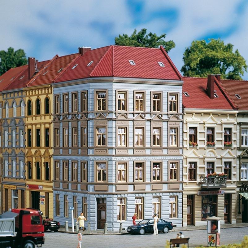 Eckhaus Schmidtstraße 11, Bausatz, Spur H0