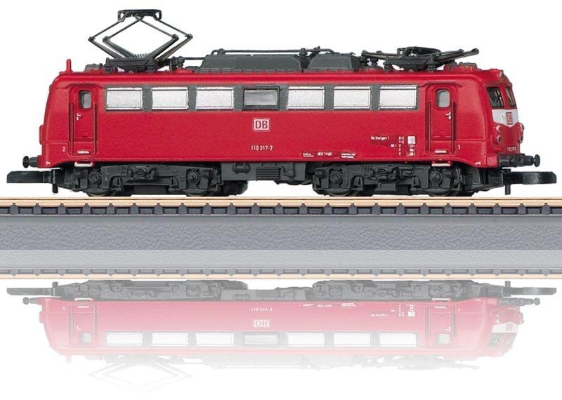 Elektrolokomotive BR 110 der DB AG, Spur Z