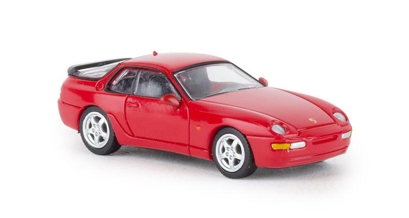 Porsche 968, rot, 1991, 1:87 / Spur H0