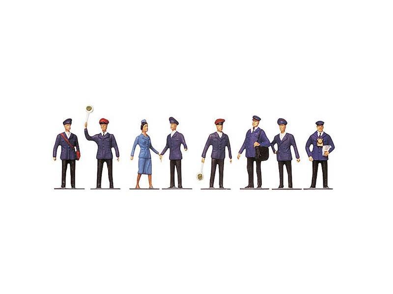 Bahnpersonal I 8 Figuren H0