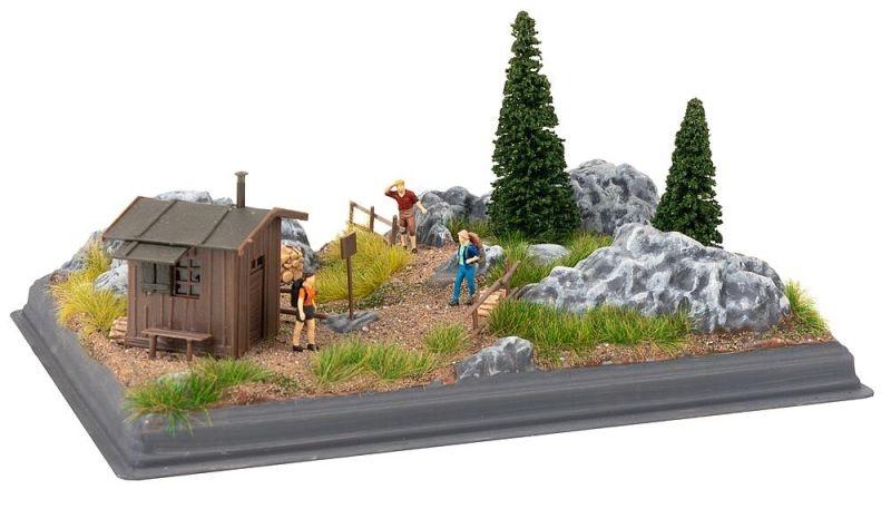 Mini-Diorama Gebirge Bausatz, Spur H0