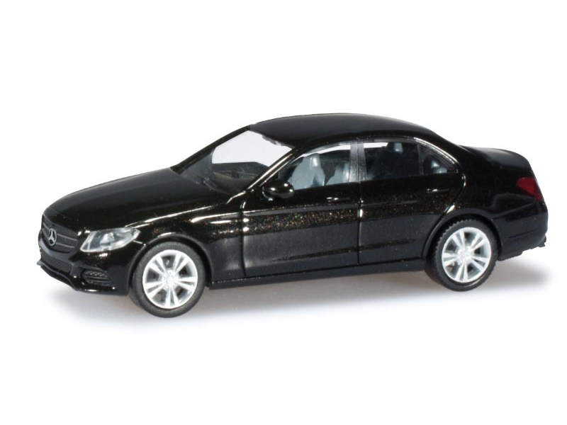 MB C-Klasse Limousine Avantgarde, obsidianschwarz, 1:87 / H0