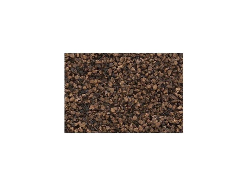 Ballast - Schotter, dunkelbraun, mittel, 248 g
