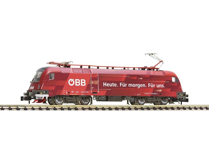 Elektrolokomotive 1116 225-4 der ÖBB, Spur N