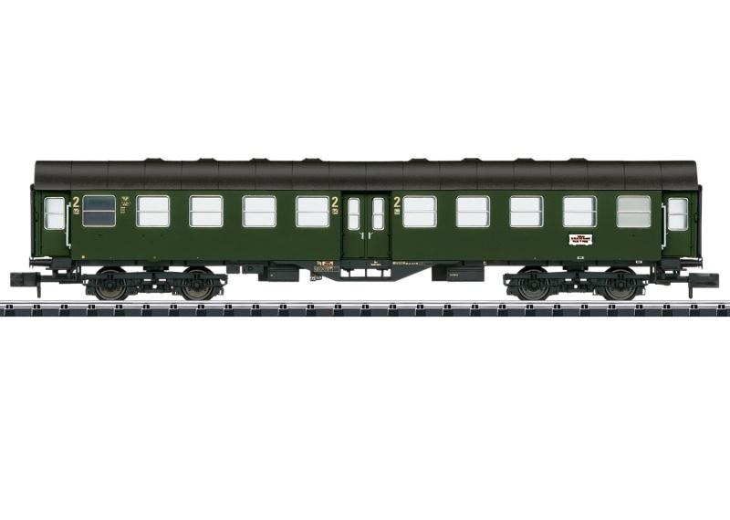 Personenwagen Byg der DB, Minitrix Spur N