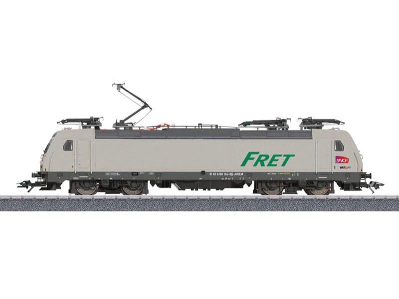 Elektrolokomotive BR TRAXX 2 E 186 FRET SNCF Sound mfx H0