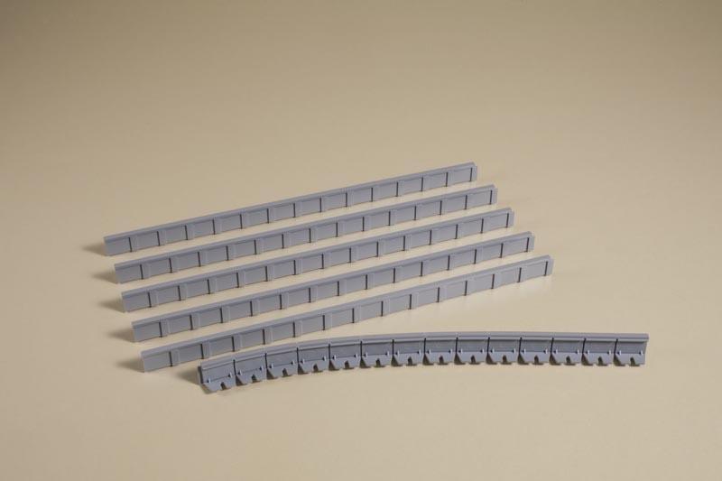 Bahnsteigkanten 10 mm, Bausatz, Spur TT