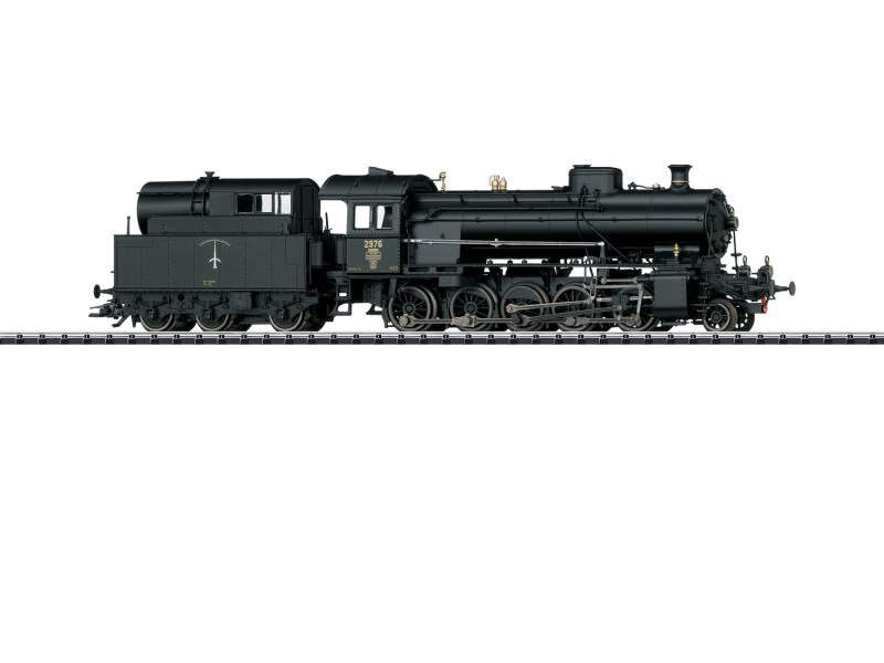 Dampflok Serie C 5/6 Elefant der SBB, mfx, DCC, Spur H0