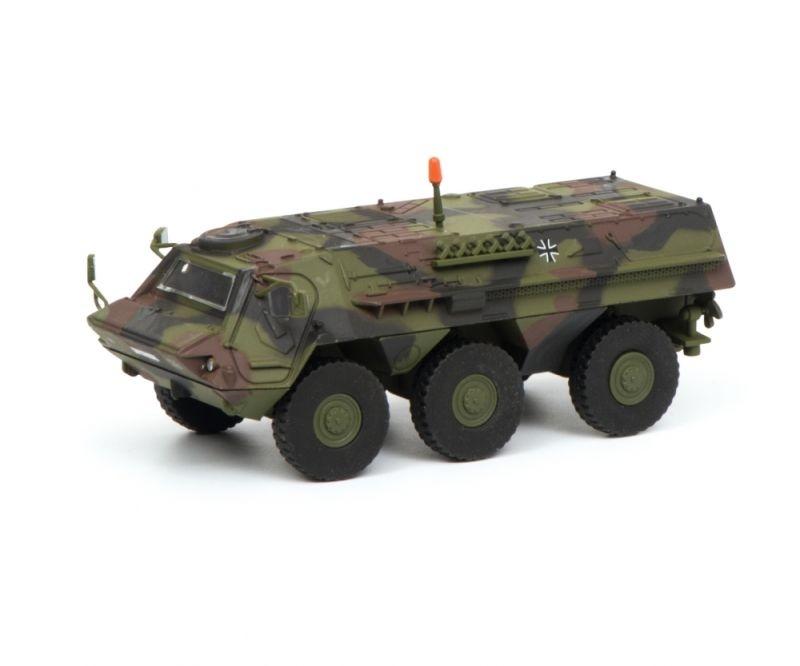 Fuchs Transportpanzer Bundeswehr, flecktarn, 1:87 / Spur H0