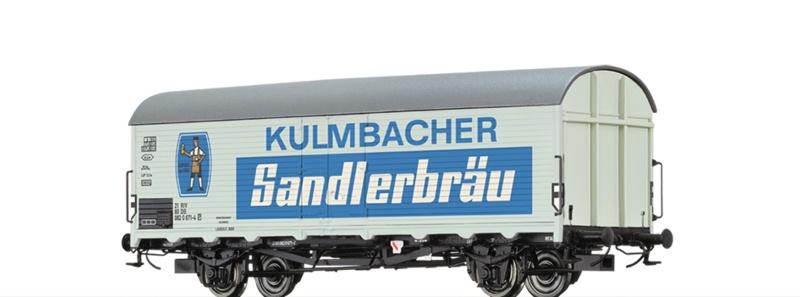 Kühlwagen Ibdlps 383 DB, IV, Kulmbacher, DC, Spur H0
