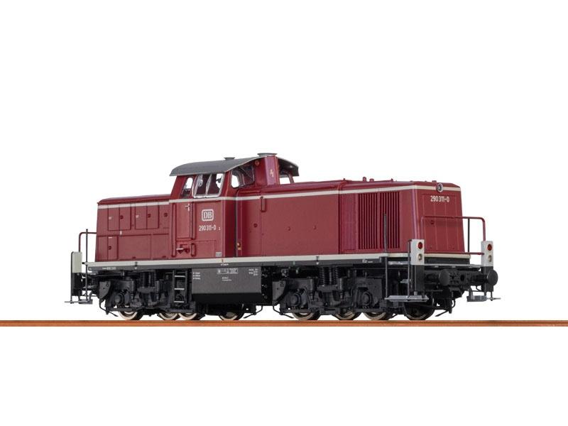 Diesellok BR290 der DB, IV, AC Digital BASIC+, H0