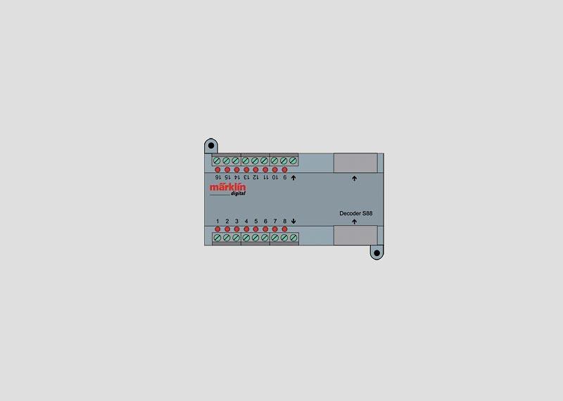 Rückmeldemodul Decoder s88 DC