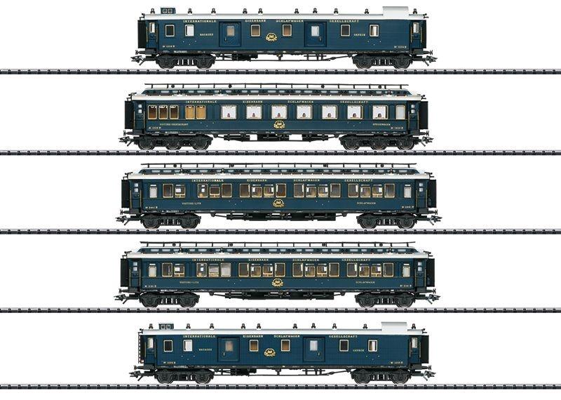 Schnellzugwagen-Set 1 Simplon-Orient-Express, Ep.II, H0