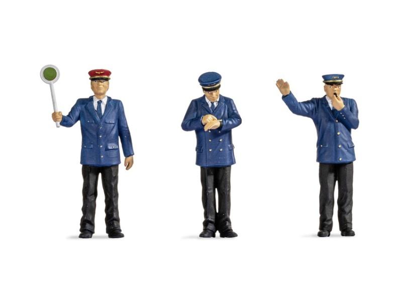 Bahnpersonal Figuren, Spur 1