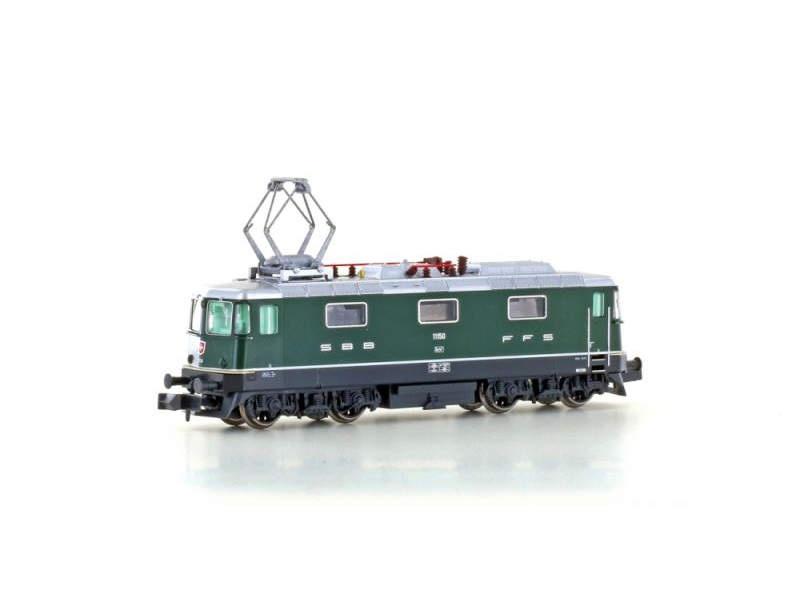 E-Lok Re4/4 II SBB 1.Serie, grün, Epoche III/IV, Spur N