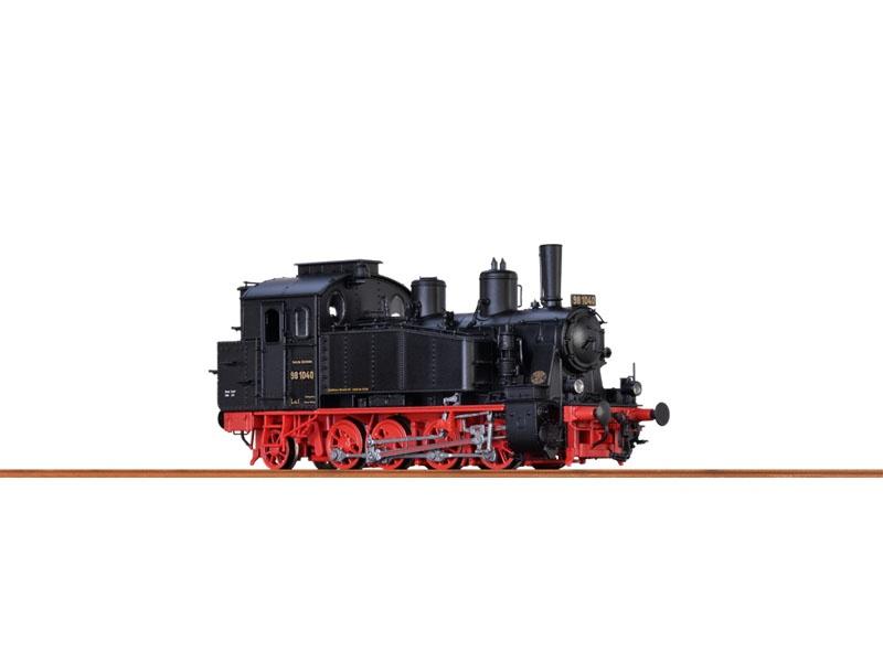 Tenderlok BR98.10 DRG, II, AC/SR, Digital, Sound & Rauch, H0
