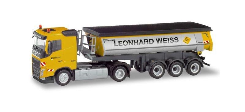 Volvo FH Thermomulden-Sattelzug Leonhard Weiss, 1:87 / H0