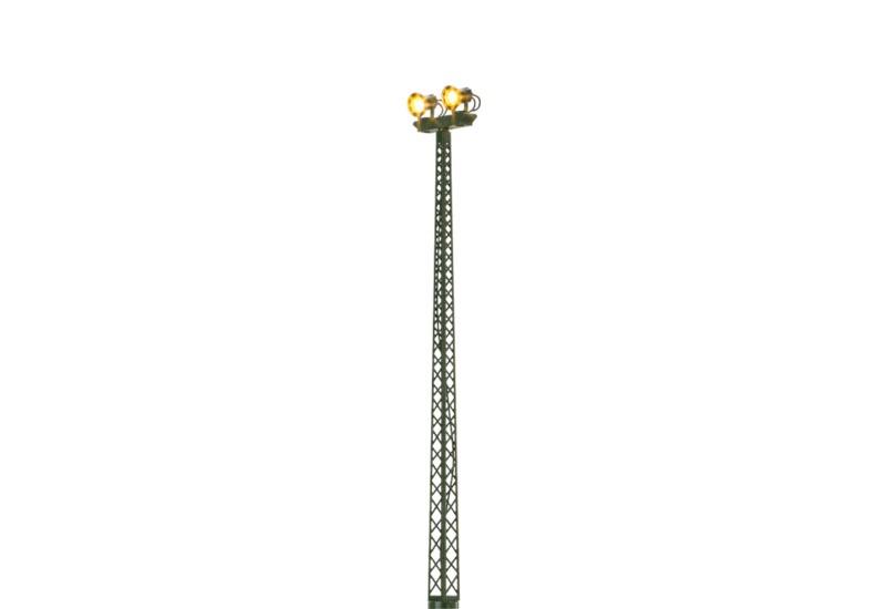 Flutlicht, doppelt, Stecksockel mit LED, Spur H0