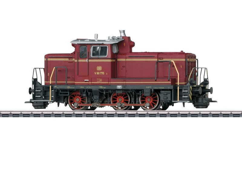 Diesel-Rangierlokomotive BR V 60 DB Sound mfx+ H0