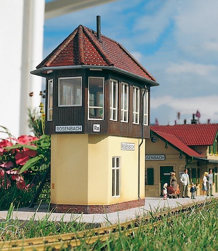 Stellwerk Rosenbach, Bausatz, Spur G