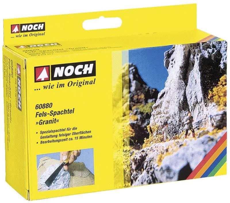 Fels-Spachtel Granit grau, 400 g