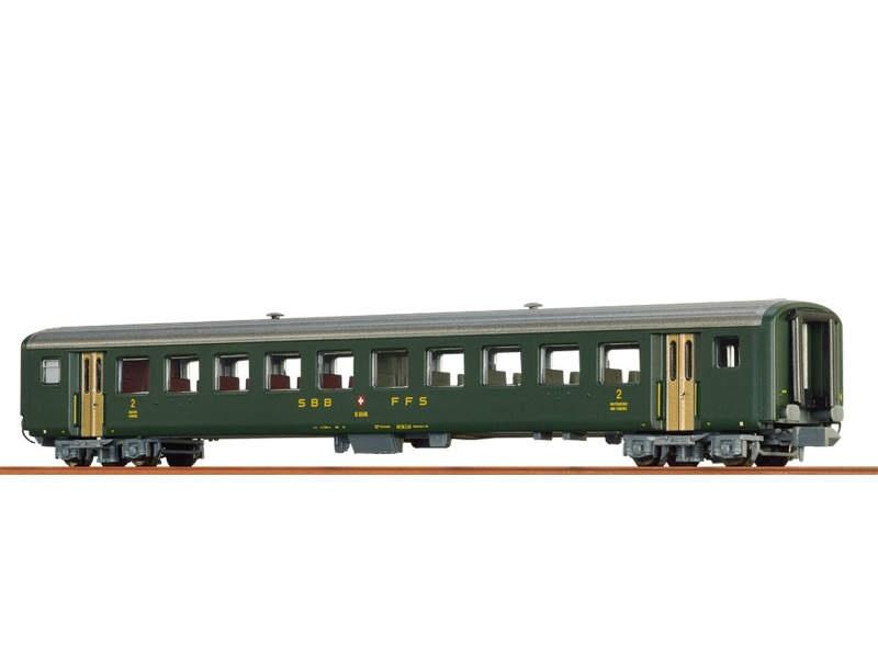 Einheitswagen AB EW II der SBB, III, Spur N