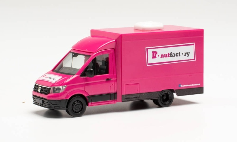 VW Crafter Foodtruck Donutfactory, 1:87 / Spur H0