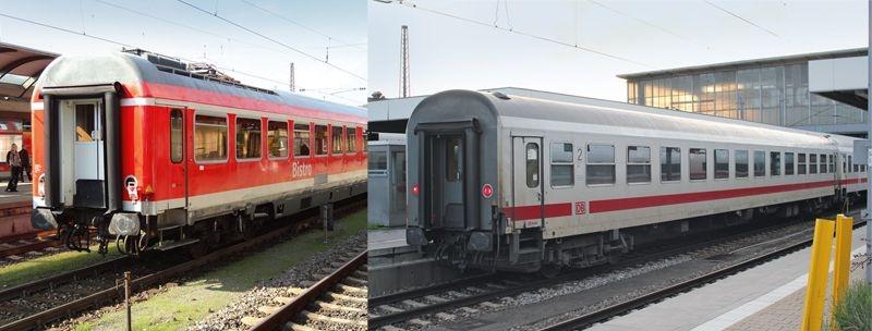 Personenwagen-Set IC 60419 der DB AG, Minitrix Spur N