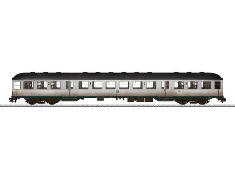 Nahverkehrswagen Silberling 2. Klasse BnB 720 DB Spur 1