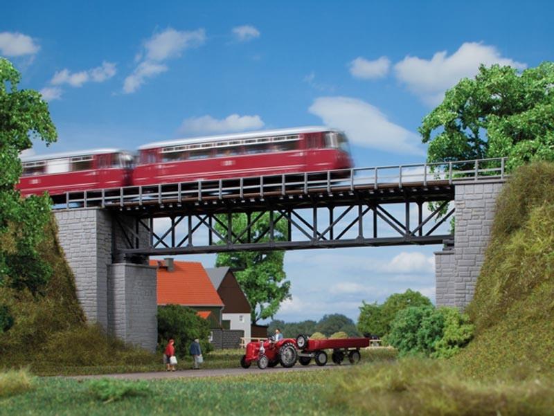 Fachwerkbrücke, Bausatz, Spur H0 / Spur TT
