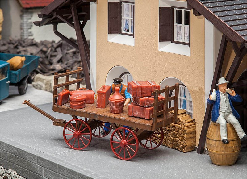 Gepäckwagen Bausatz G