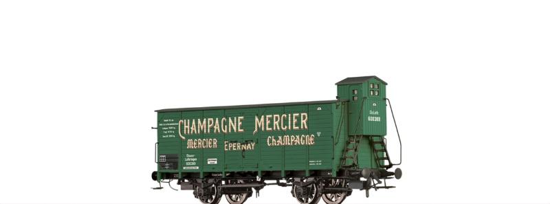 Bierwagen Champagne Mercier Elsass Lothringen, DC, Spur H0