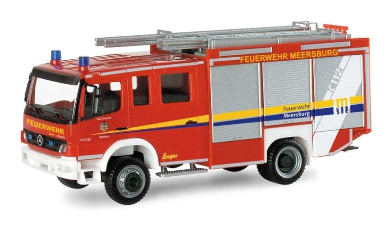 MB Atego `04 Ziegler HLF 20/20 FFW Meersburg 1:87 / H0